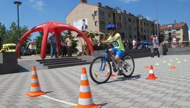 Prvo biciklističko natjecanje osnovnih škola (5.-8. razreda) grada Zaprešića